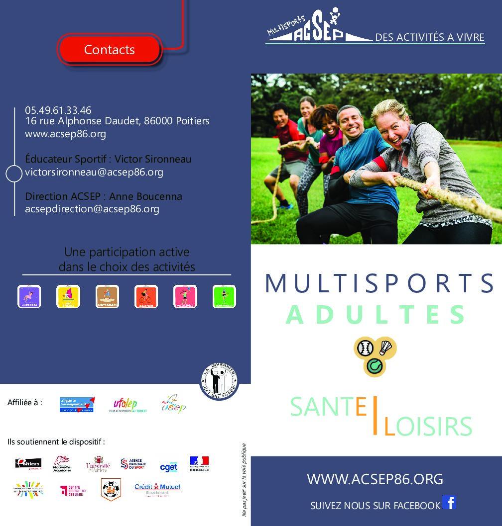 Permalien à: Les samedis et mardis multisports femmes et adultes